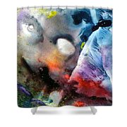 Masked Acceptance Shower Curtain