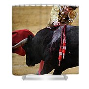 Matador Jose Tomas II Shower Curtain