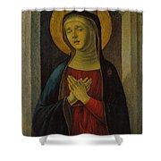 Mater Dolorosa Shower Curtain
