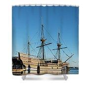 Mayflower II  Shower Curtain