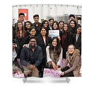 Mba Tour For Students Factory Visits Shower Curtain
