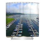 Mckinley Marina Shower Curtain