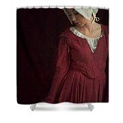 Medieval Maid Servant  Shower Curtain