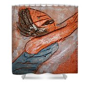 Melissa - Tile Shower Curtain
