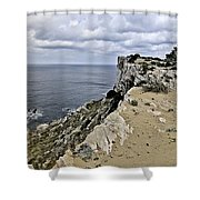 Menorca North Shore From Mongofre Shower Curtain