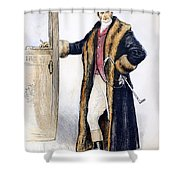 Mens Fashion, 1894 Shower Curtain