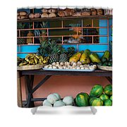 Mercado Ataco Shower Curtain