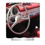 Mercedes 300sl Dashboard Shower Curtain