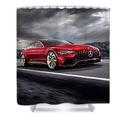 Mercedes A M G   G T Shower Curtain