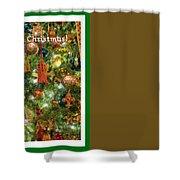 A Merry Christmas Shower Curtain