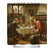 Merry Company In A Dutch Interior Shower Curtain