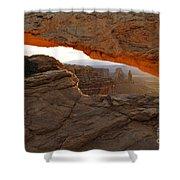 Mesa Arch Sunrise - D003097 Shower Curtain