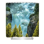 Mesa Falls - Yellowstone Shower Curtain