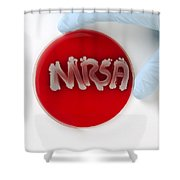 Methicillin Resistant Staphylococcus Shower Curtain