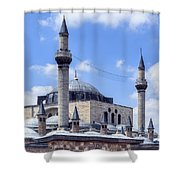 Mevlana Museum Konya - Turkey Shower Curtain