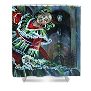 Mexico.part One Shower Curtain