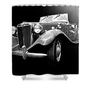 Mg-td Shower Curtain