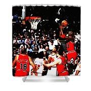 Michael Jordan Soft Touch Shower Curtain
