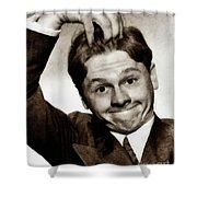 Mickey Rooney, Vintage Actor Shower Curtain