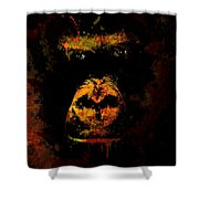 Mighty Gorilla Shower Curtain