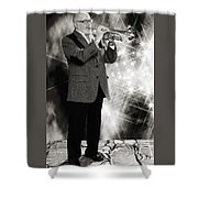 Mike Vax Professional Trumpet Player Photographic Print 3774.02 Shower Curtain