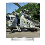 Mil Mi-17 Hip Shower Curtain