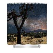 Milky Way 3 Shower Curtain