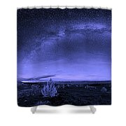 Milky Way Heaven Shower Curtain