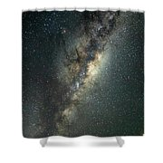 Milky Way With Mars Shower Curtain