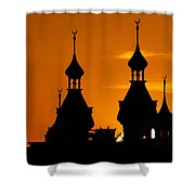 Minarets Over Tampa Shower Curtain