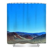 Mineral Mountains Shower Curtain