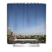 Minneapolis - Saint Anthony Falls Shower Curtain