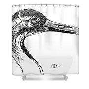 Miracle Bird Shower Curtain