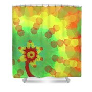 Sunflakes  Shower Curtain