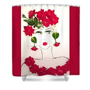 Ramblin' Rose Shower Curtain