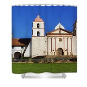 Mission Santa Barbara Shower Curtain