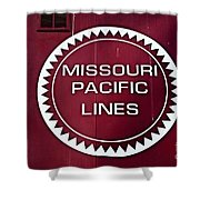 Missouri Pacific Lines Shower Curtain