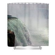 Mist Over Horseshoe Falls  Shower Curtain
