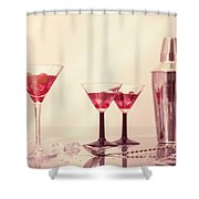 Mixing Cocktails Shower Curtain