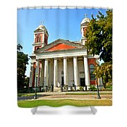 Mobile Cathedral Shower Curtain