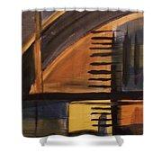Modern Architecture 1 Shower Curtain