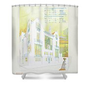 Modern Design Shower Curtain