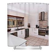 Modern Kitchen Shower Curtain