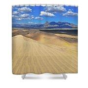 Mojave Kelso Dunes Landscape Shower Curtain