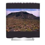 Mojave National Preserve Shower Curtain