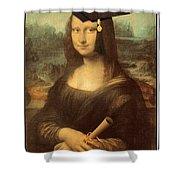 Mona Lisa  Graduation Day Shower Curtain