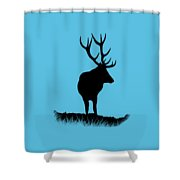 Monarch Of The Park  Shower Curtain