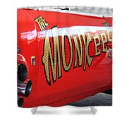 Monkeemobile Shower Curtain