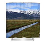 Mono County Nevada Shower Curtain