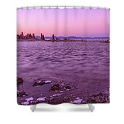 Mono Lake California Shower Curtain